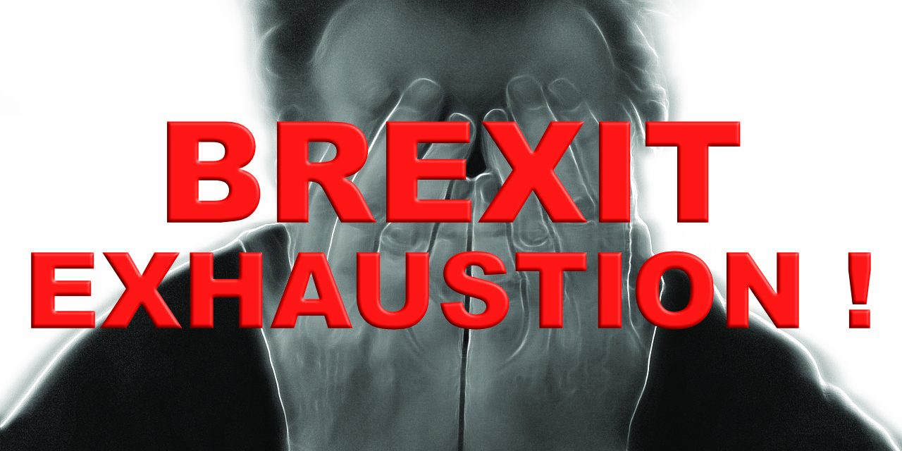 Will 'Brexit Exhaustion' force a No Deal Exit from the EU!