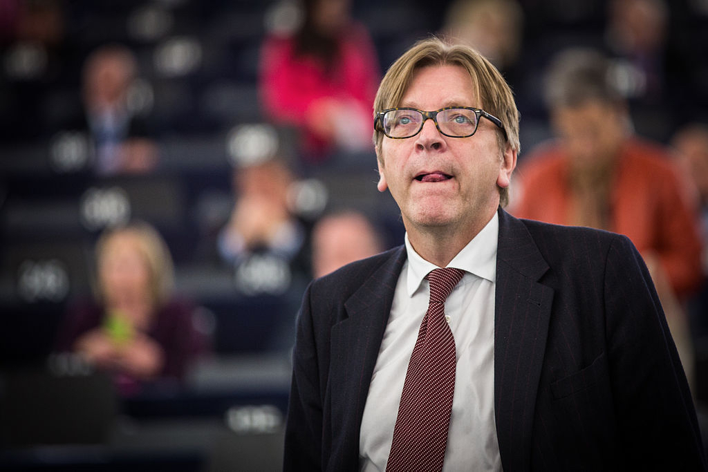 Guy Verhofstadt By Claude Truong-Ngoc : Wikimedia Commons - cc-by-sa-3.0