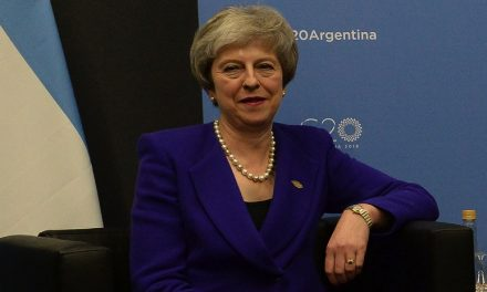 Theresa May stumbles on!
