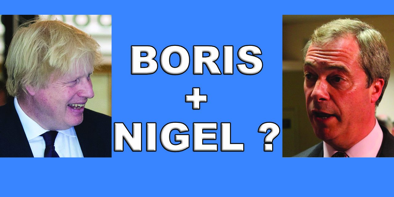 Nigel Farage Offers Boris Johnson a Deal!