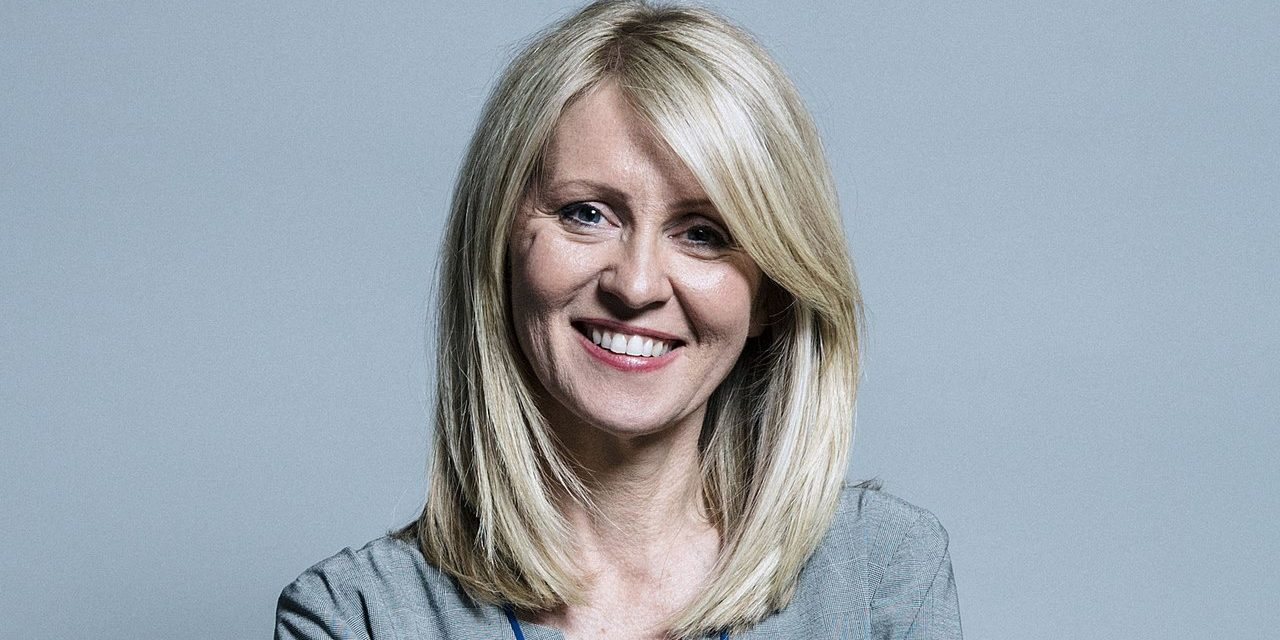 Esther McVey has an Eventful Day!