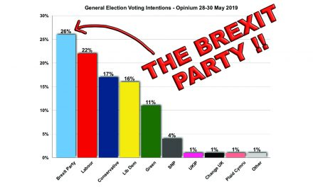 The Brexit Party Tops the Polls!
