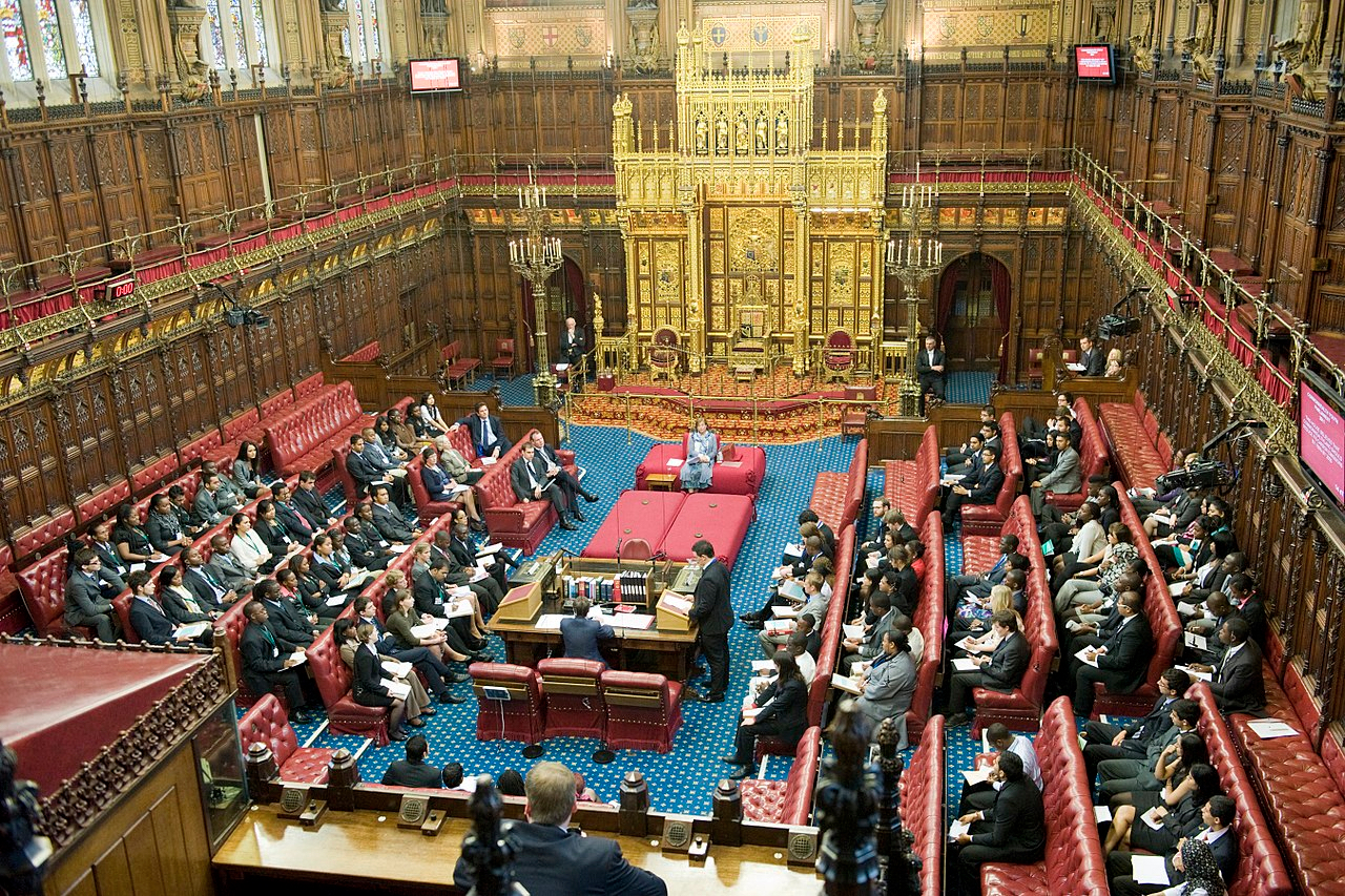 House of Lords Chamber 2011 (OGL 3)
