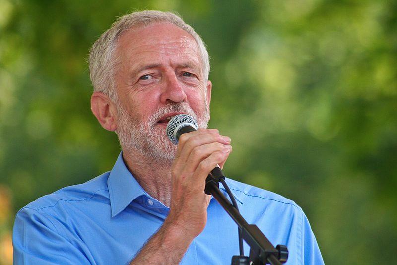 Jeremy Corbyn By Sophie J Brown (CC-BY-SA-3.0)