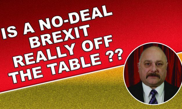 Is a no deal Brexit really off the table?!